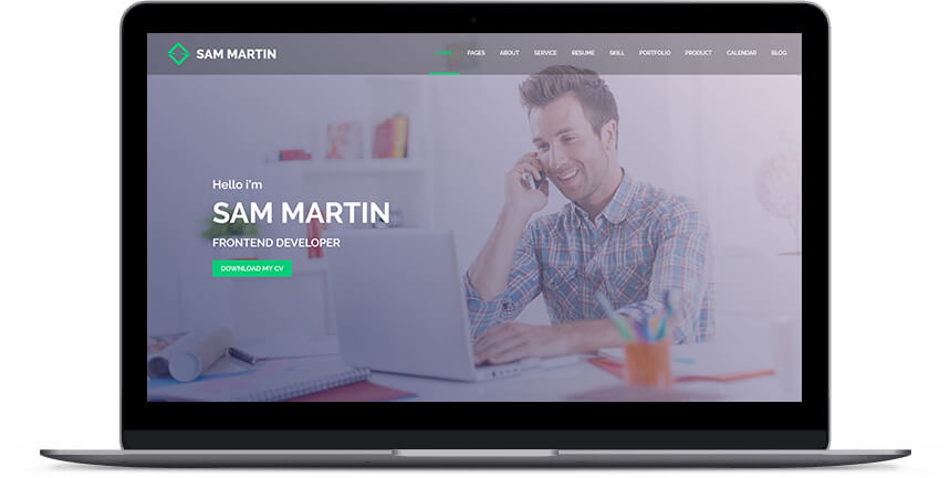 freelancer wordpress theme 2