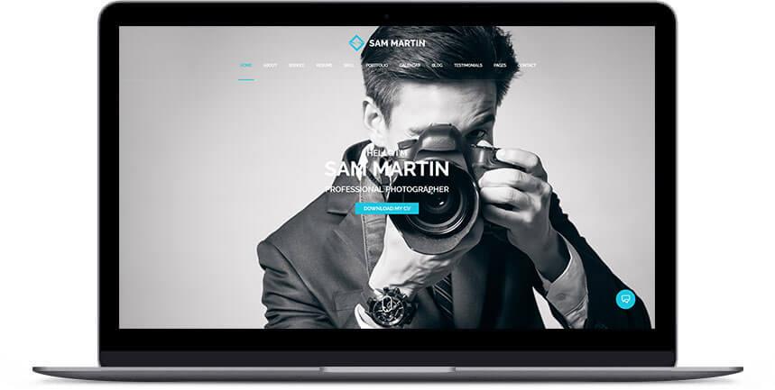 photographer wordpress theme 3