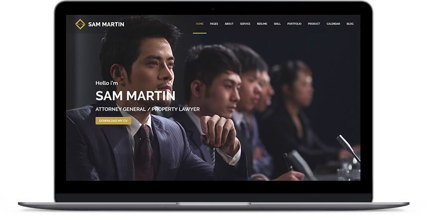 lawyer wordpress themes 2