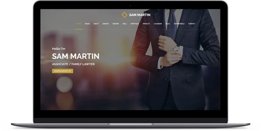 lawyer wordpress themes 3