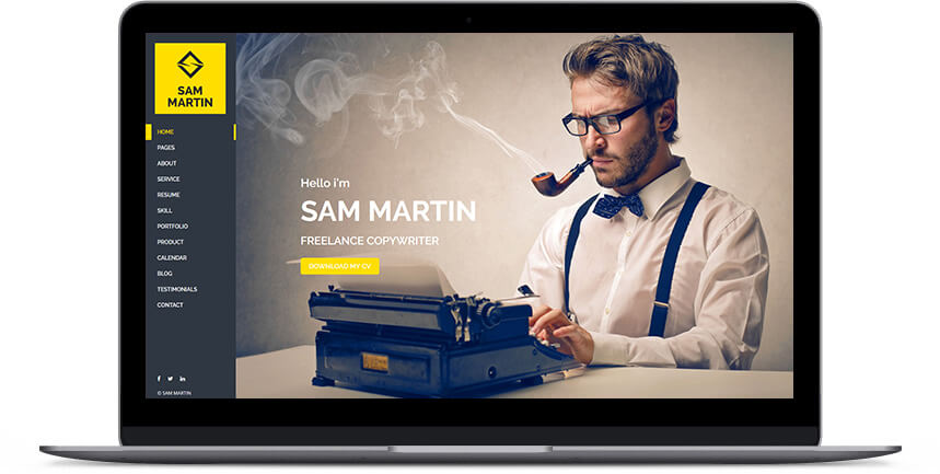 writer wordpress themes 1