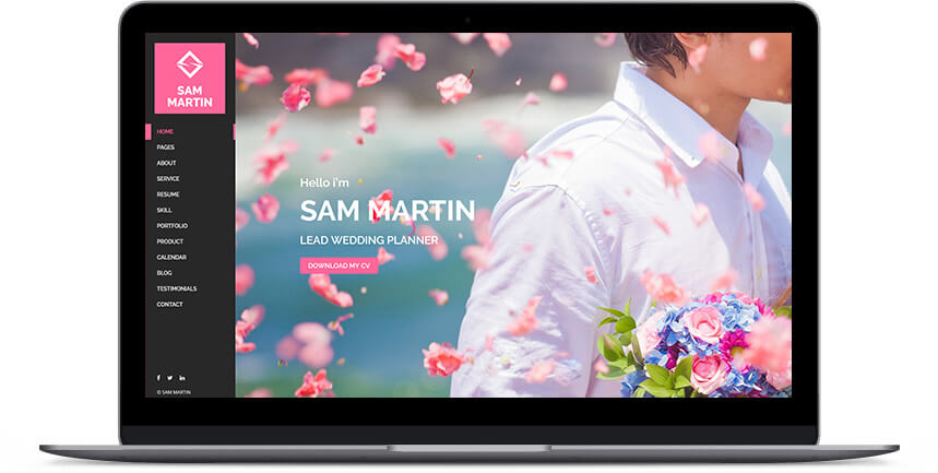 wedding wordpress themes 1
