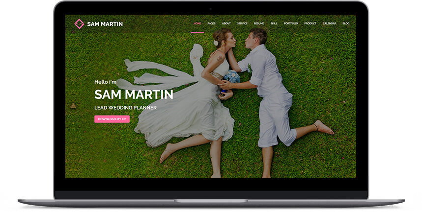 wedding wordpress themes 2