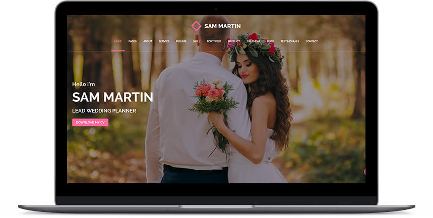 wedding wordpress themes 3