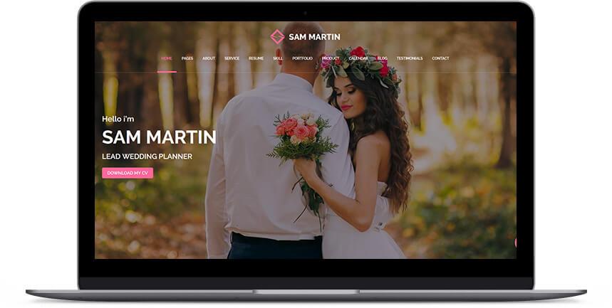 wedding wordpress themes 3
