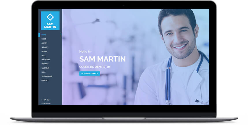 doctor wordpress themes 1