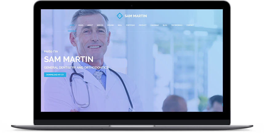 doctor wordpress themes 3
