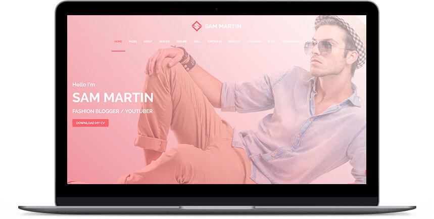 model wordpress themes 3