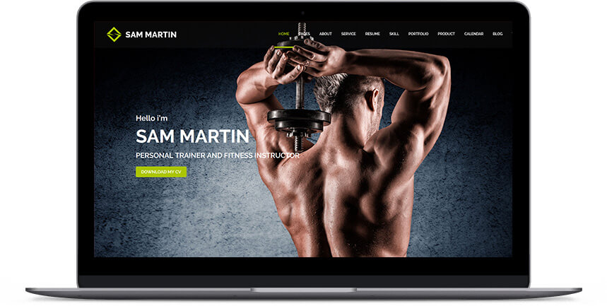 fitness wordpress themes 2