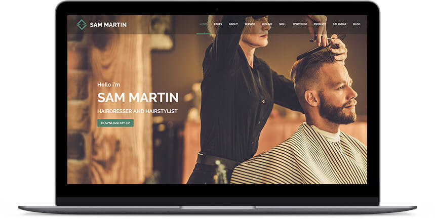 barber wordpress themes 2