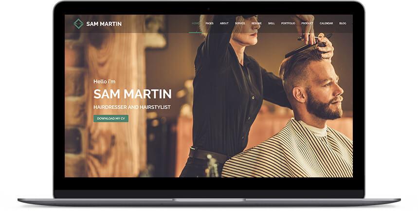 barber wordpress themes 2