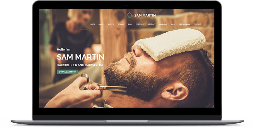 barber wordpress themes 3